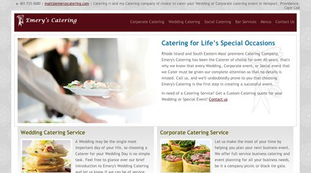 Emery's Catering Service