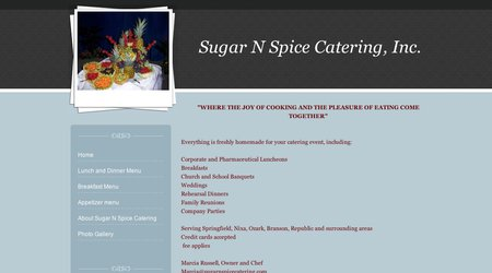 Sugar N Spice Catering