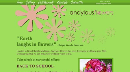 Andylous Flowers