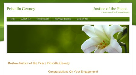 Priscilla Geaney, Justice of the Peace