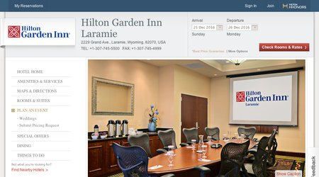 UW Conference Center & Laramie Hilton Garden Inn