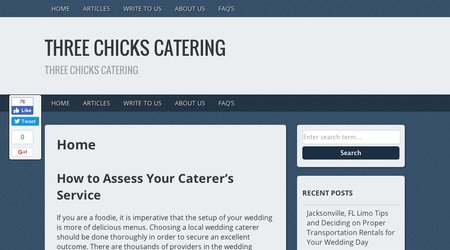 Three Chicks Catering, Inc.