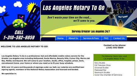 Los Angeles Notary To Go