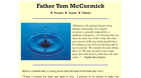 Father Tom McCormick