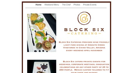 Block Six Catering