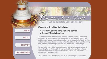 Cynthia's Cake World