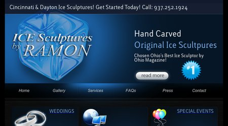 Ice Scultures by Ramon