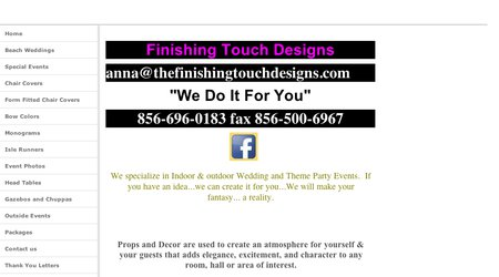 Finishing Touch Designs