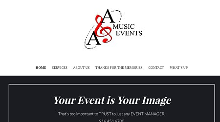 A and A Music Events