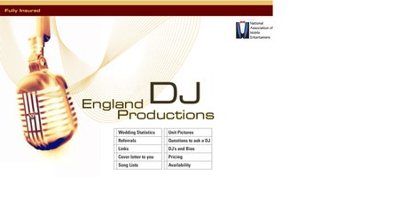 England Productions DJ Services