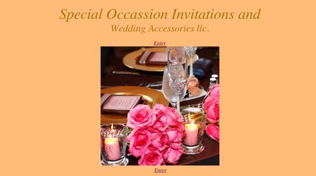 Special Occasion Invitations & Wedding Accessories