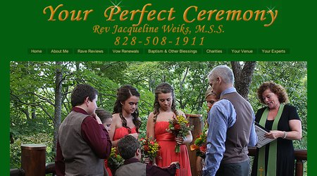 Your Perfect Ceremony by Rev Jacqueline Weiks