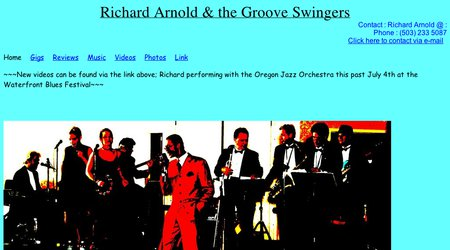 Richard Arnold & the Groove Swingers