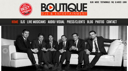 Boutique DJs