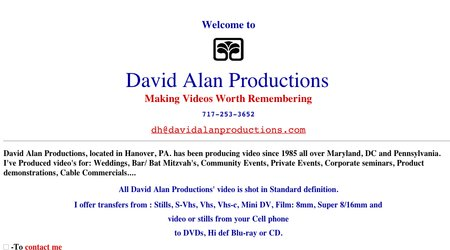 David Alan Productions