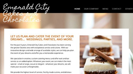 Emerald City Cakes & Chocolates