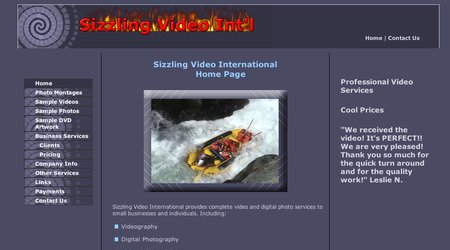 Sizzling Video International