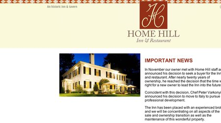 Home Hill Inn