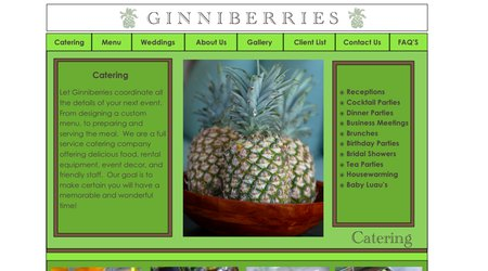 Ginniberries Catering
