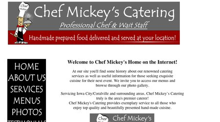 Chef Mickey's Catering