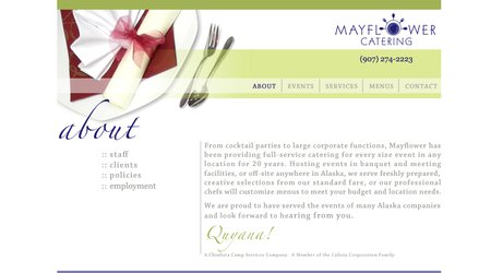Mayflower Catering