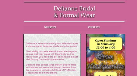 Delianne Bridal & Formal Wear