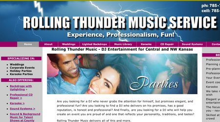 Rolling Thunder Music Service