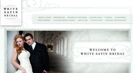 White Satin Bridal Shop