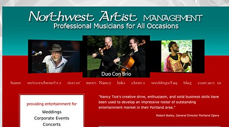 Northwest Artist Management