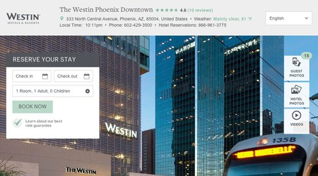 The Westin Phoenix Downtown Hotel