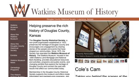 The Watkins Community Museum of History