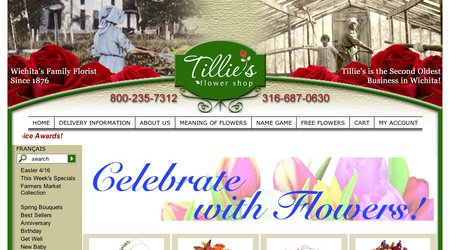 Tillie's Flower Shop