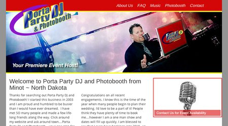 Porta Party DJ & Photobooth