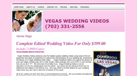 Vegas Wedding Videos