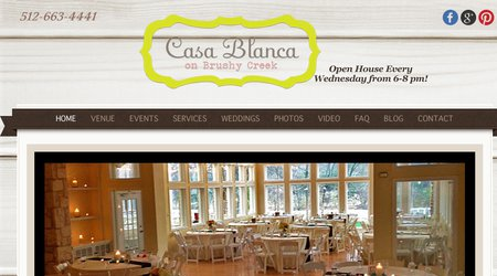 Casa Blanca on Brushy Creek