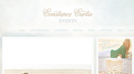 Constance Curtis Events