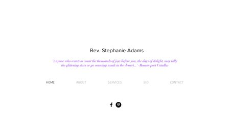 Rev. Stephanie Adams