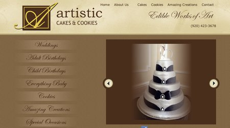 Artistic Cakes & Cookies