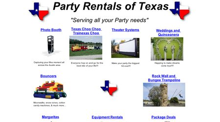 Party Rentals of Texas