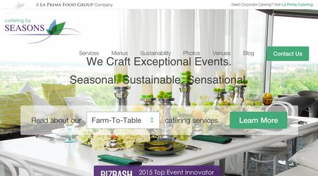 Catering by Seasons