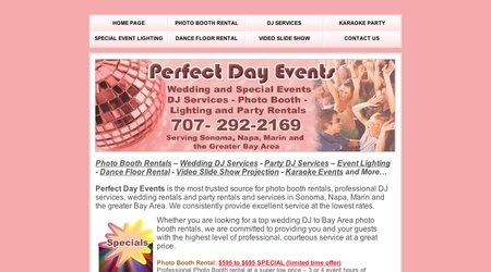 Perfect Day Events