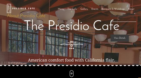 Presidio Cafe at Presidio Golf Course