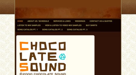 Chocolate Sound DJ Service
