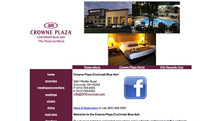 Crowne Plaza Hotel & Suites Blue Ash