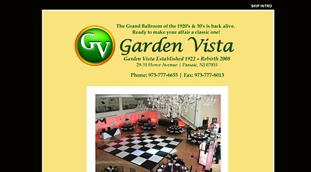 The Garden Vista Ballroom