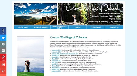 Custom Weddings of Colorado