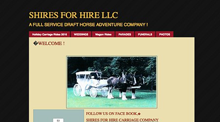 Shires For Hire Carriage Company