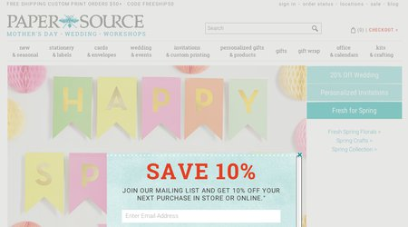Paper Source Stationery