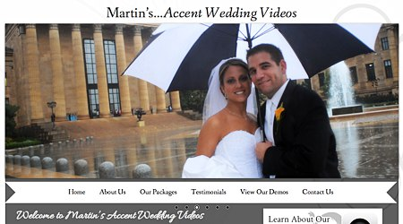 Martin's Accent Wedding Videos