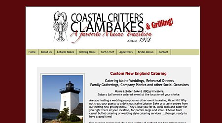 Coastal Critters Clambakes and Grilling